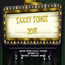 Saxxy Songs 2015 cover art