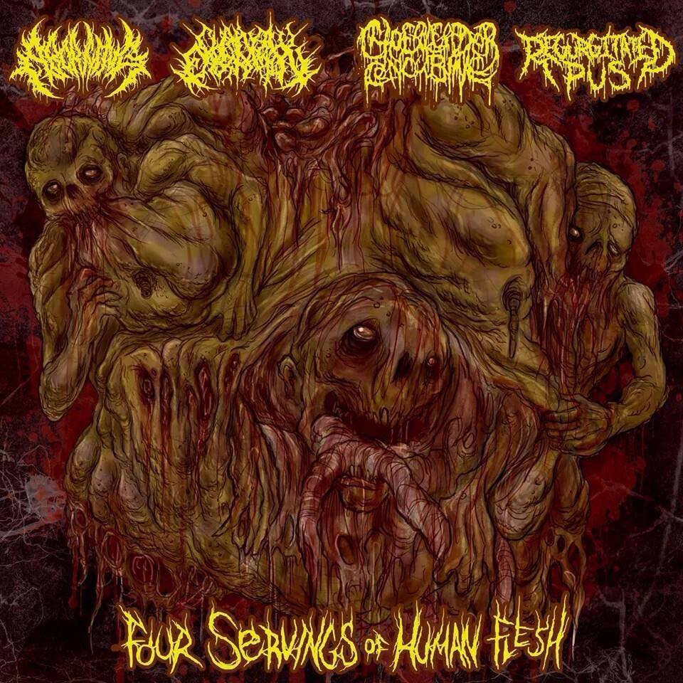 Four Servings Of Human Flesh Split Chainsaw Castration