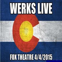 Live @Fox Theatre 4/04/2015 cover art