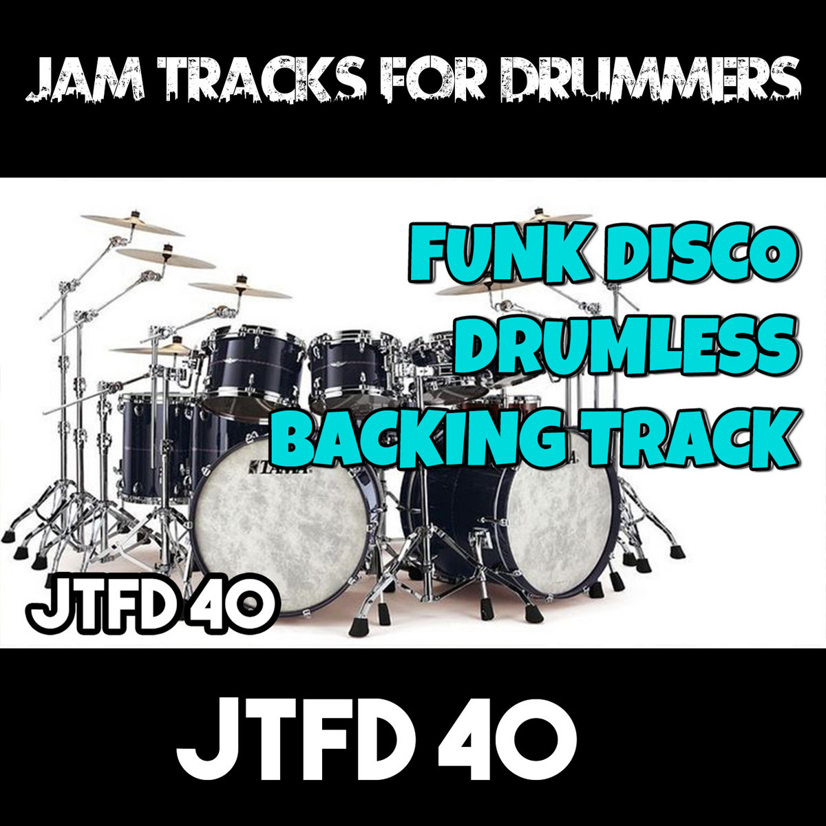 Funk Disco | Drumless Backing Track For Drummers | #BTFD 40 | Jam