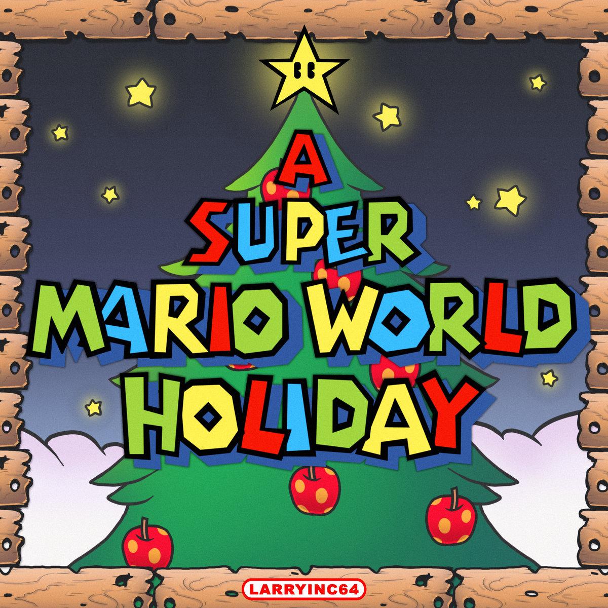 Super Mario World Christmas.A Super Mario World Holiday Larryinc64