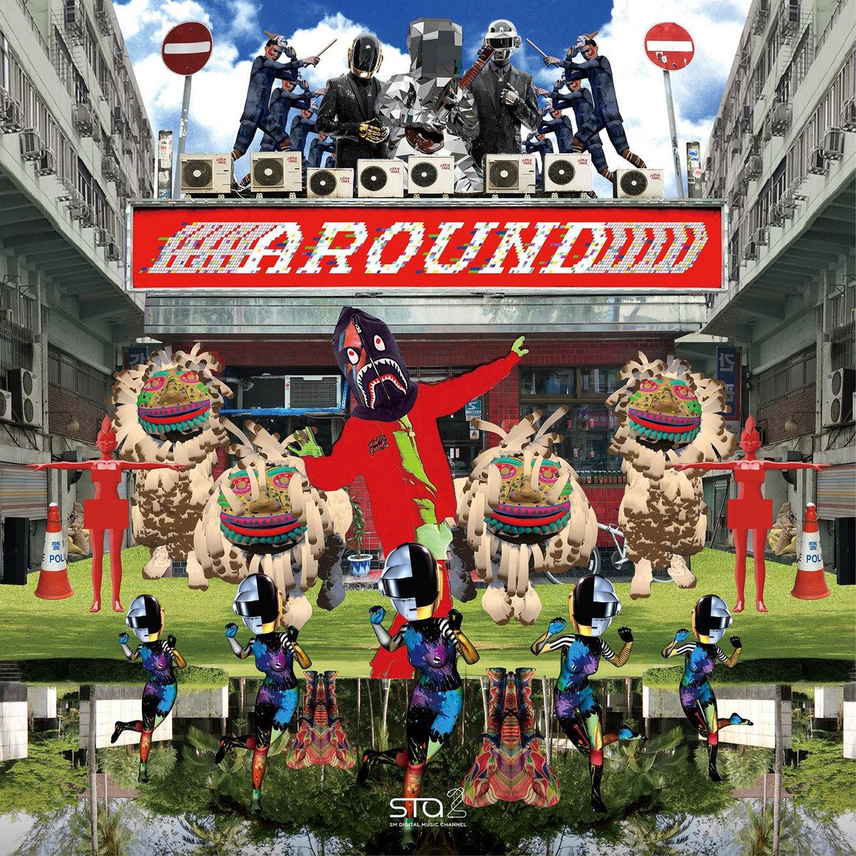 Around The Around (feat  Daft Punk) (J E B Mashup) | J E B