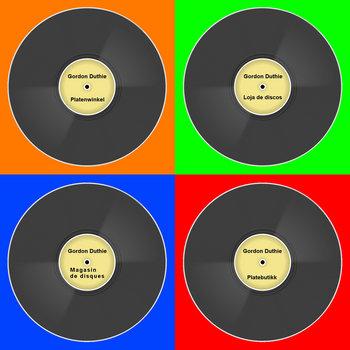 Record Shop by Gordon Duthie