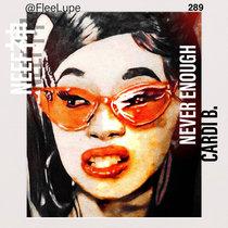 Cardi B.(Never Enough) cover art