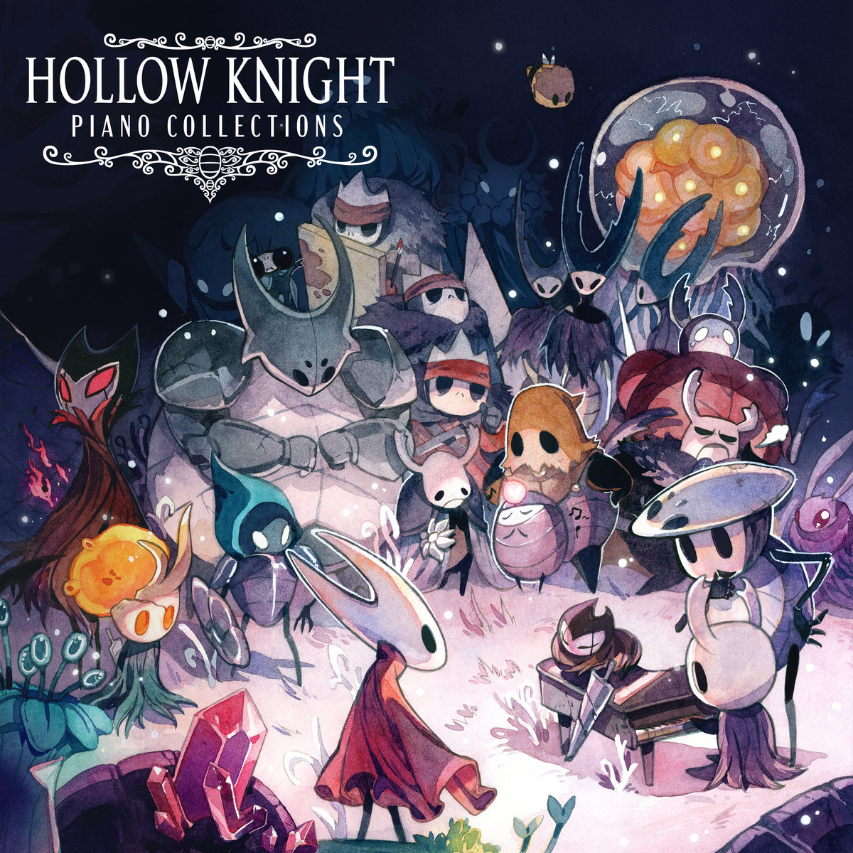 Hollow Knight Piano Collections Materia Collective