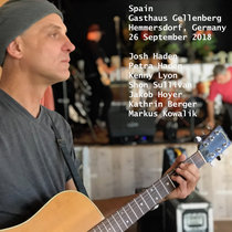 Spain Gasthaus Gellenberg Hemmersdorf, Germany 26 September 2018 With Petra Haden, Jakob Hoyer, Kathrin Berger & Markus Kowalik cover art