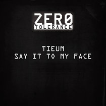 Z-T008 Say It To My Face cover art
