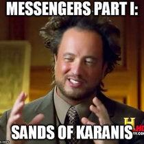 Messengers Part I: Sands of Karanis cover art