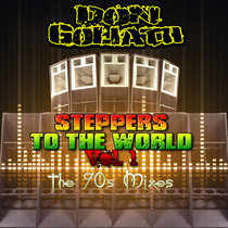 Steppers to the World Vol. 1 (The 90s Mixes) cover art