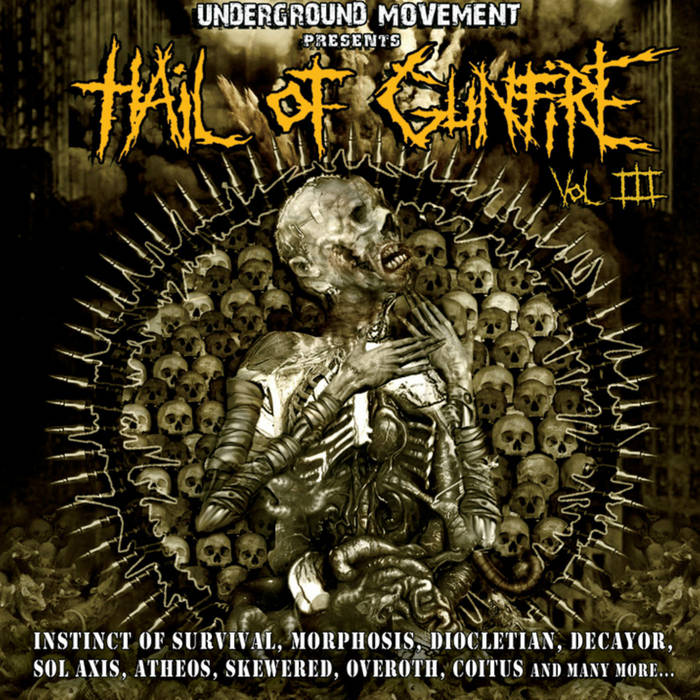 Hail Of Gunfire Vol. 3 cover art