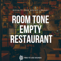 Room Tone Empty Restaurant With Staff And No Customers! Turkey cover art