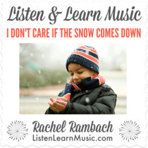 I Don't Care if the Snow Comes Down cover art