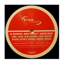 [BRSP01] : Q Burns Abstract Message feat.Lisa Shaw / Mambo Urbano Orchestra - David Duriez + Llorca Remixes [Brique Rouge 3 Limited Promo Copy / 2020 Remastered] cover art