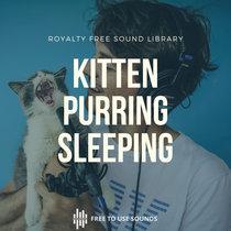 Cat Purring Sound Effects   Kitten Purr Sleep & Cleaning Sounds cover art
