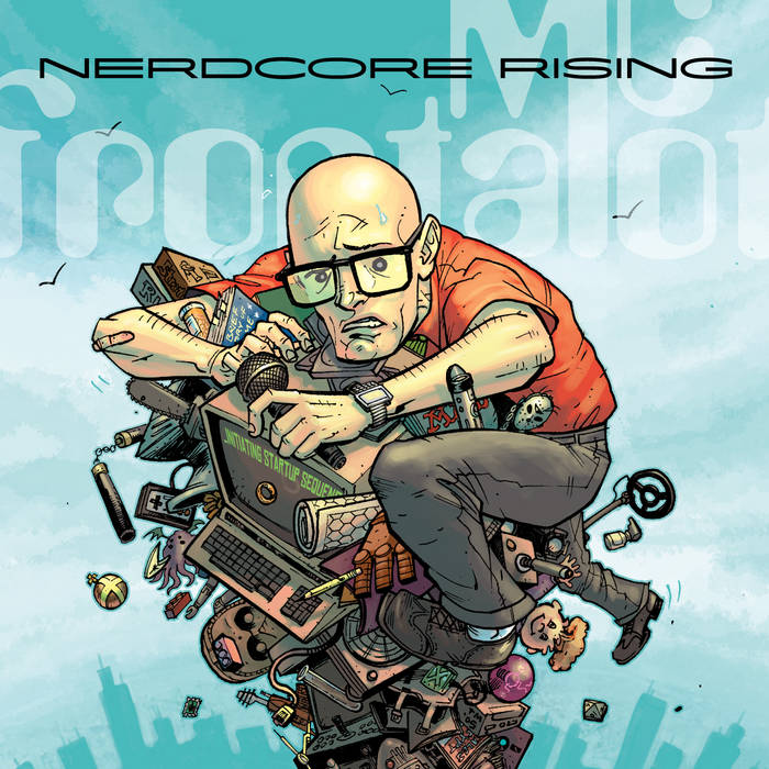 Nerdcore Rising cover art
