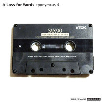A Loss for Words: The Cassette Demo cover art
