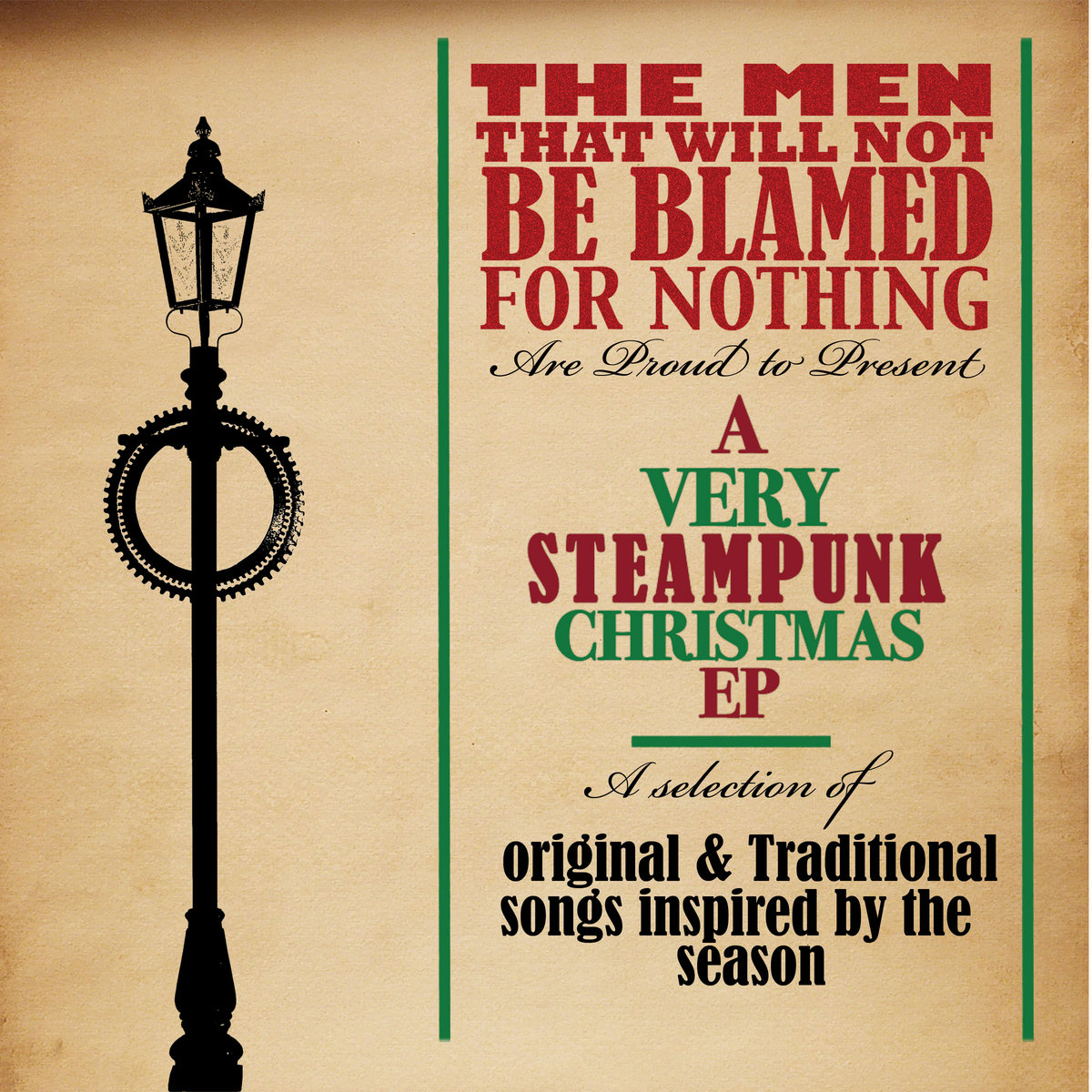 A Very Steampunk Christmas | The Men That Will Not Be Blamed For Nothing