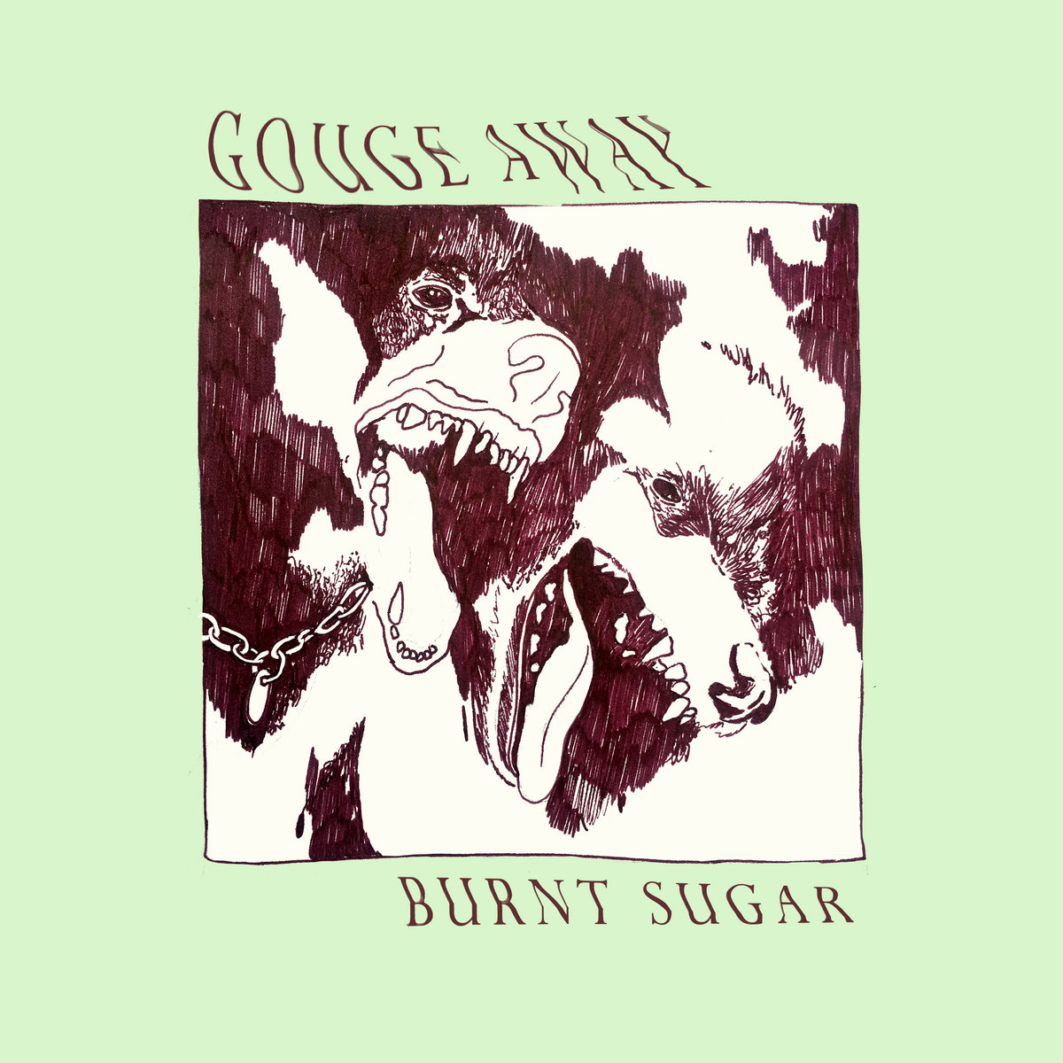Cover GOUGE AWAY - Stray / Burnt Sugar