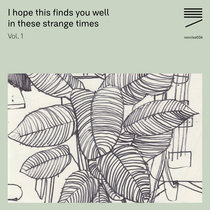 I hope this finds you well in these strange times – Vol. 1 cover art