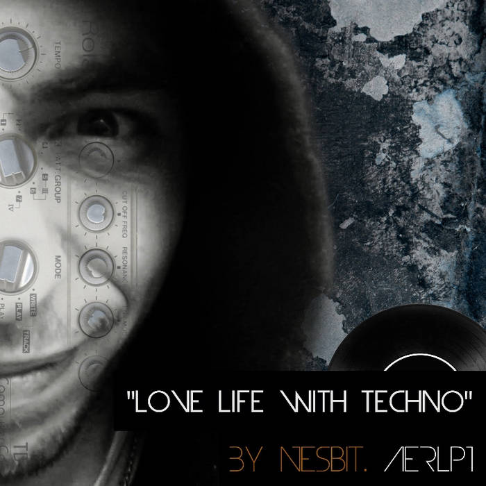 AERLP1 - LOVE LIFE WITH TECHNO cover art