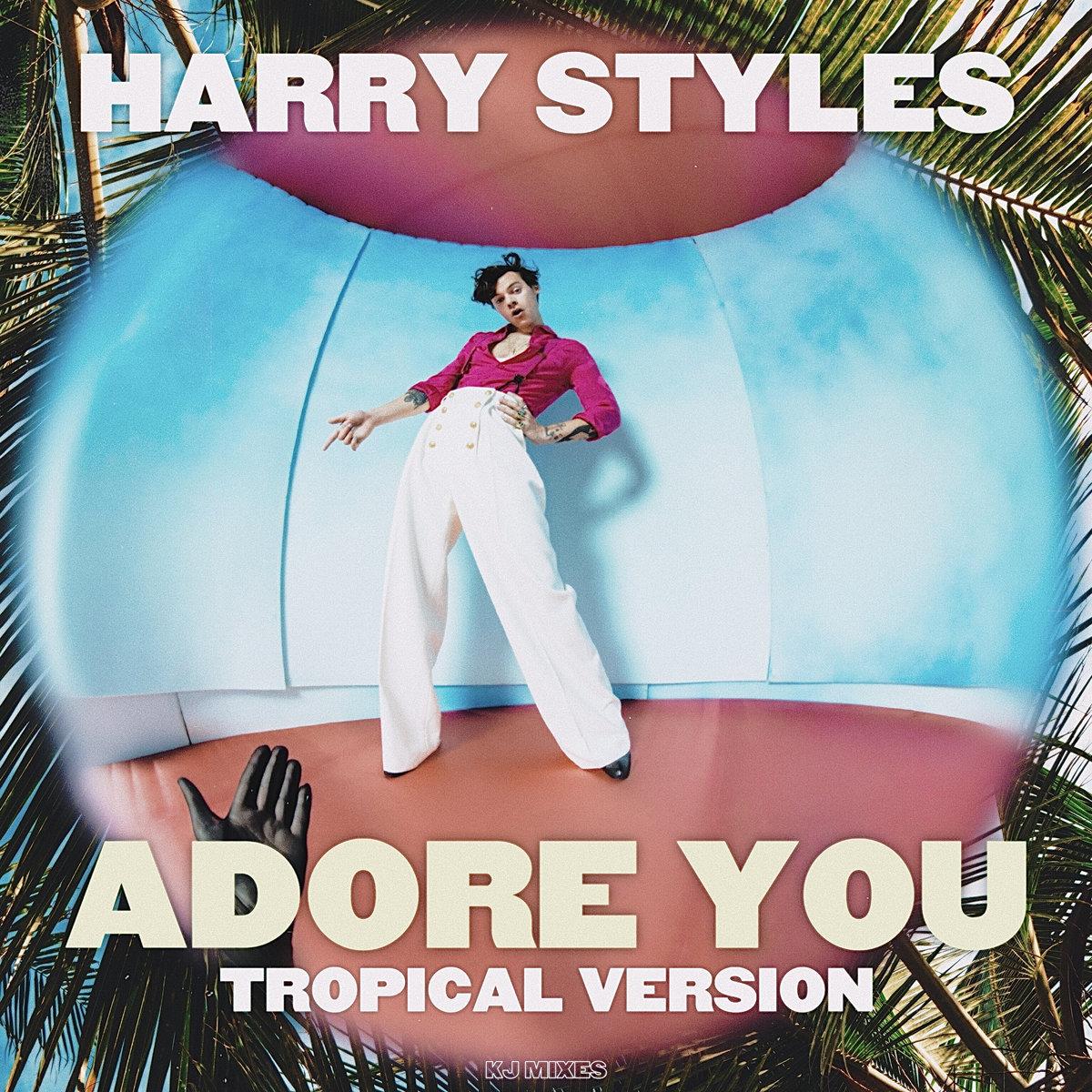 Harry Styles Adore You Tropical Version Kj Mixes