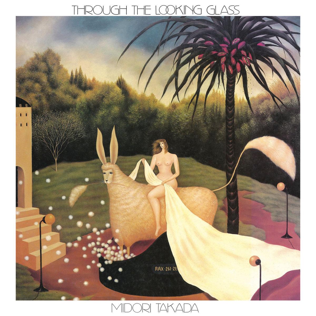 Midori Takada Album Cover Through The Looking Glass