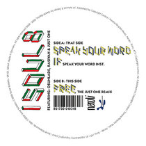 Speak Your Word EP cover art
