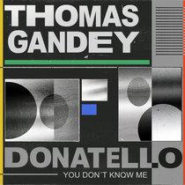 Thomas Gandey, Donatello - You Don't Know Me cover art
