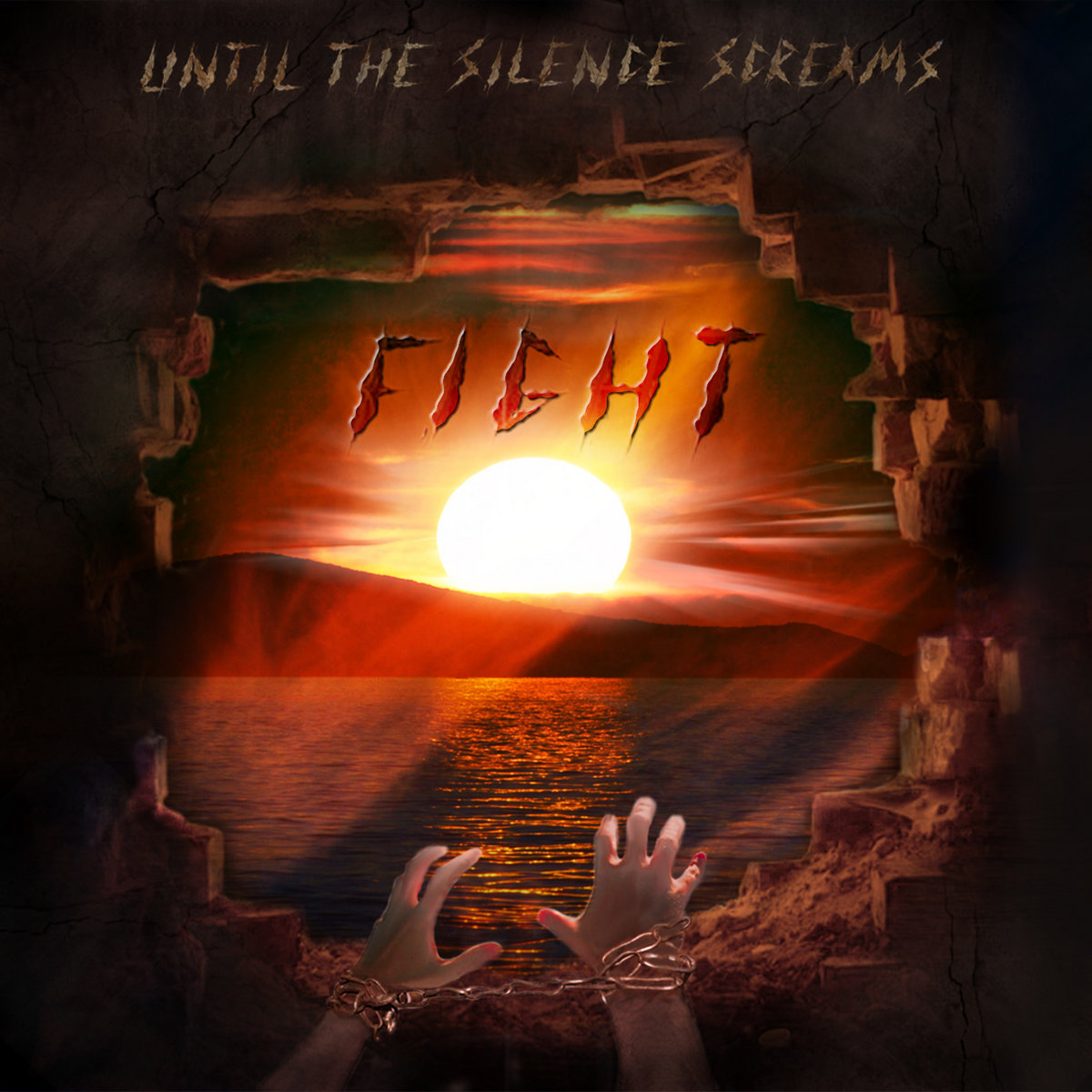 fight until the silence screams by until the silence screams