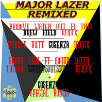 MAJOR LAZER REMIXED 4 TRACKS EP (GWOS SPECIAL) cover art