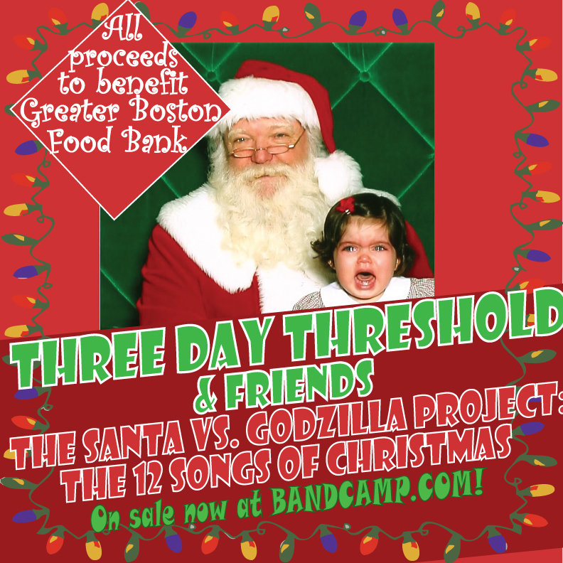 from the santa versus godzilla project 12 songs of christmas by three day threshold friends - Dominick The Italian Christmas Donkey Song