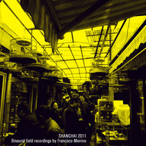 Binaural field recordings of Shanghai. cover art