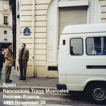 Spain Rencontres Trans Musicales Rennes, France 1995 November 30 cover art