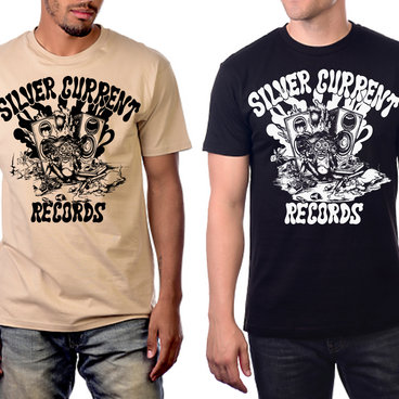 """Silver Current T-shirt """"Zapped and Zonked"""" main photo"""