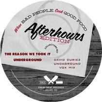 Studio Nova - The Reason We Took It Underground (David Duriez Undaground Vox Mix) [2019 Remastered] cover art