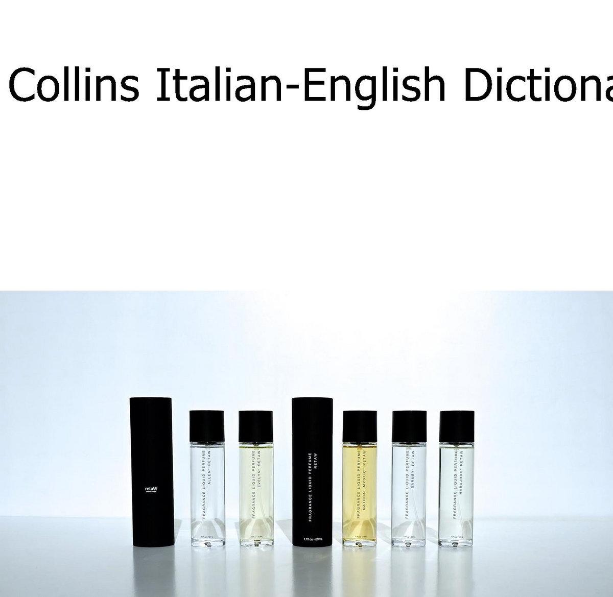 Collins italian english dictionary