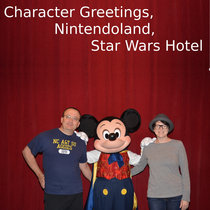Character Greetings, Nintendoland, Star Wars Hotel News cover art