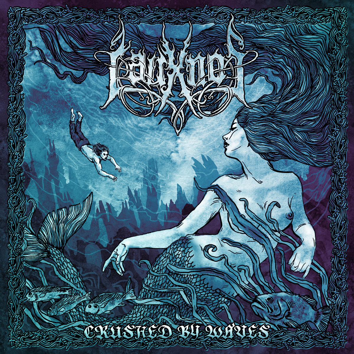 lauxnos crushed by waves post black metal russe le scribe du rock