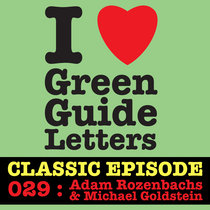 Ep 029 : Adam Rozenbachs & Michael Goldstein love the 14/06/12 Letters cover art