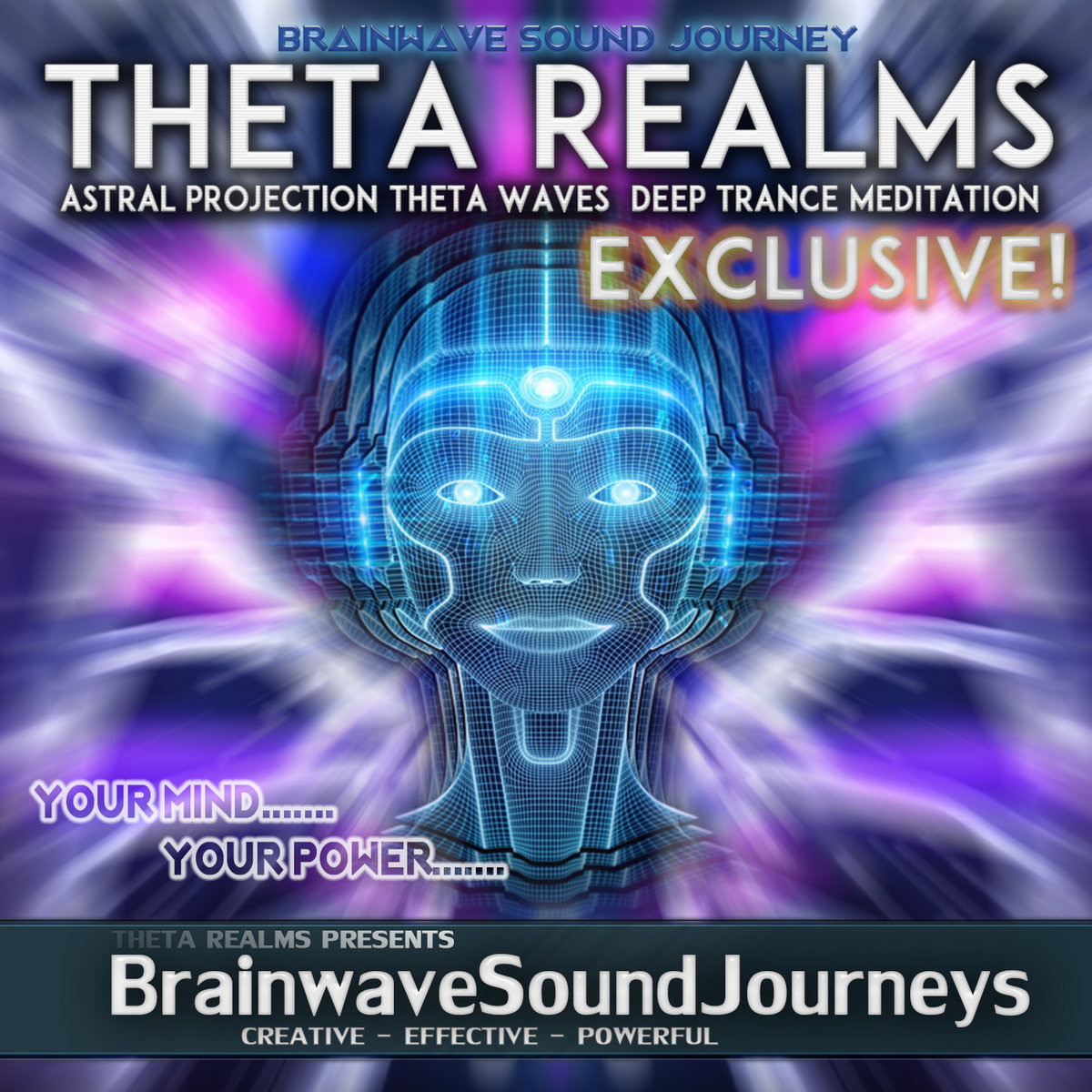 Astral Projection Theta Waves   Deep Trance Meditation   THETA
