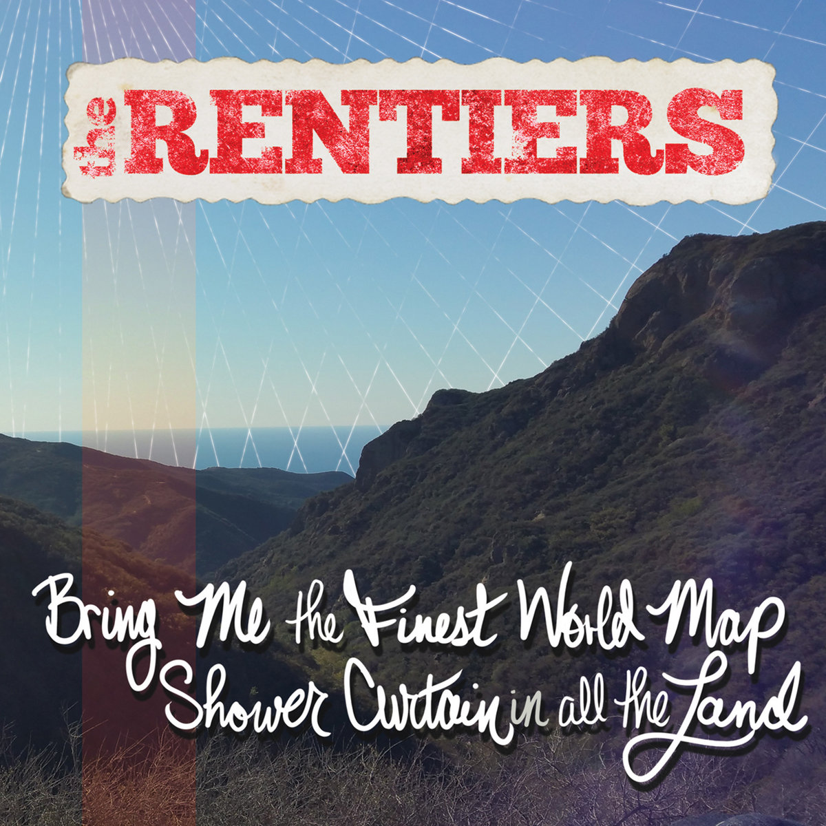 PZL113 The Rentiers  Bring Me The Finest World Map Shower