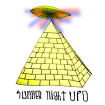 SUMMER NIGHT UFO cover art