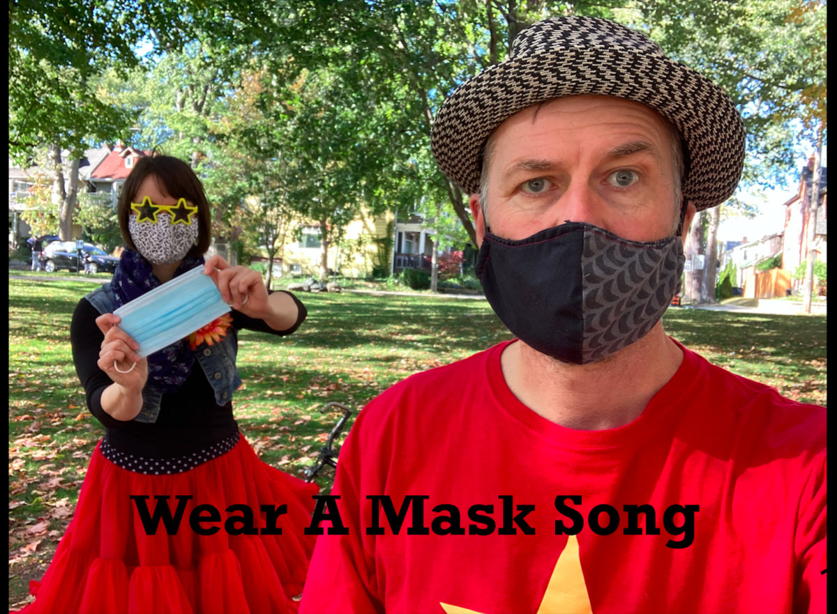 Wear A Mask Song by Sing Along Tim and The Pacifiers