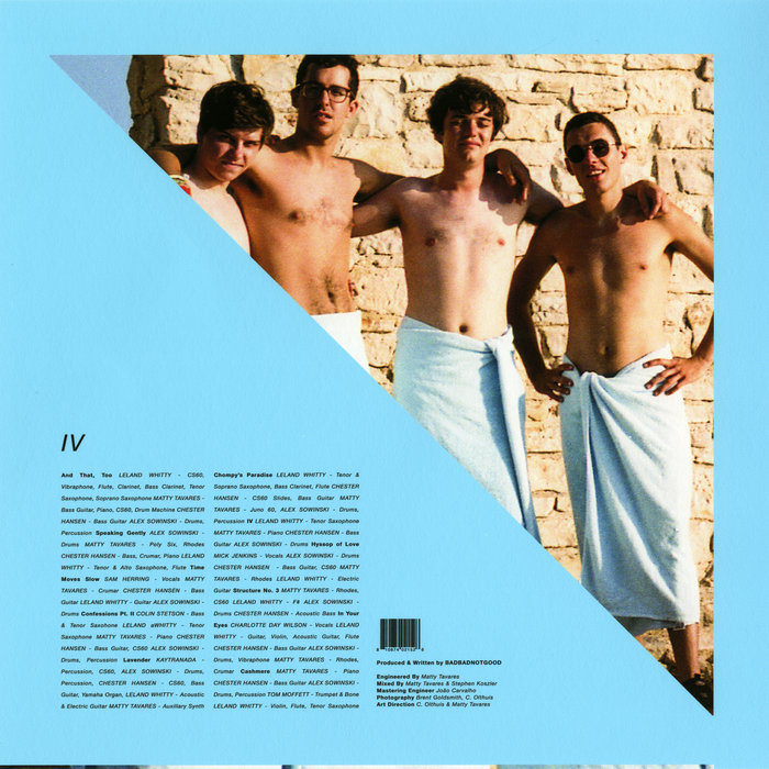 Image result for iv badbadnotgood
