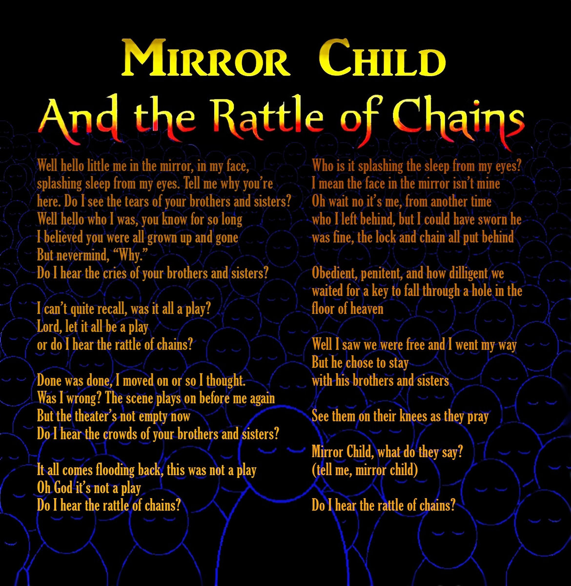 Mirror Child And The Rattle Of Chains Ric Alba