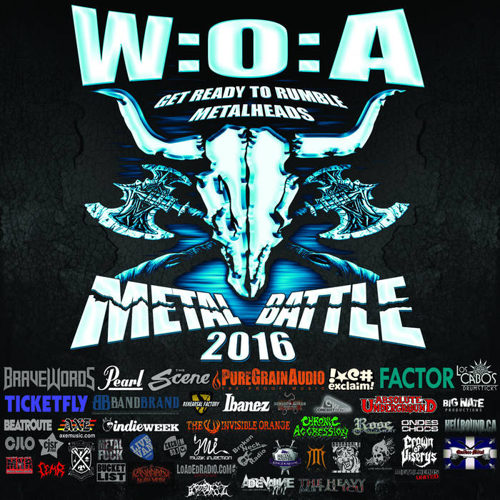 Wacken Metal Battle Canada Compilation Vol. 4 cover art