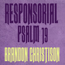 Responsorial Psalm 19: Lord, you have the words of everlasting life. cover art