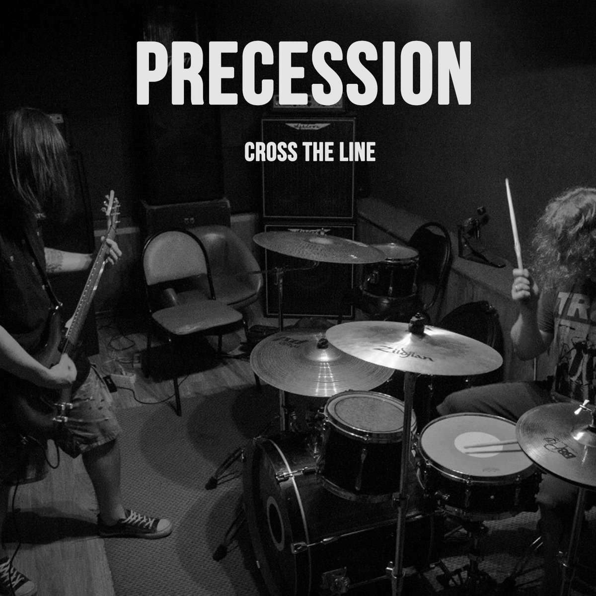 Precession - Cross The Line (2017)