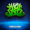 RhymeCircus and Beef Chiefs present MACH SPITZ's Flossed in Space Volumes I and II Cover Art