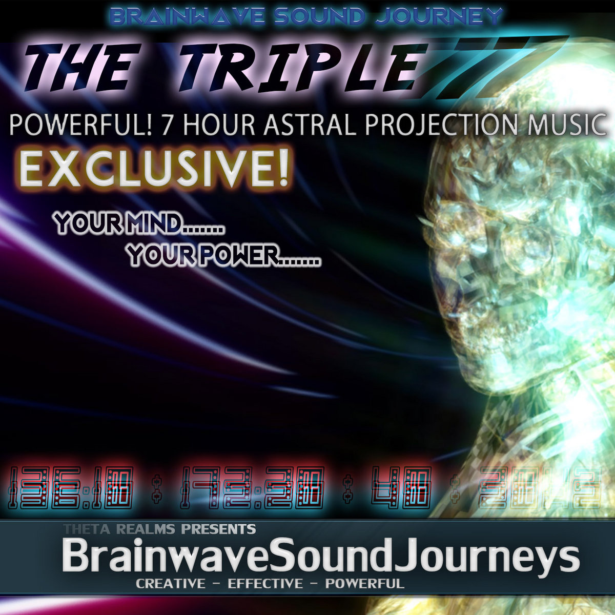 777 HZ | POWERFUL POTENCY!!! 7 HOURS ASTRAL PROJECTION